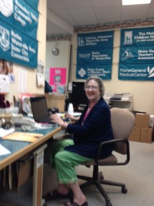 Office staff - Nancy Clark