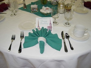 Table Setting Creativity