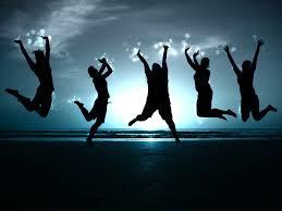 Joy can be intense...electrifying...