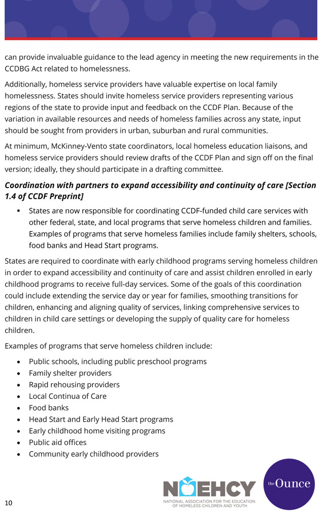 CCDF Homelessness Guide final Oct 2015-10