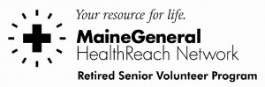 MaineGeneral RSVP & Maine General Logo grayscale