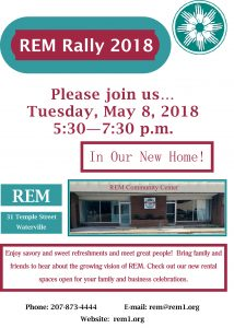 REM Rally May 8, 2018