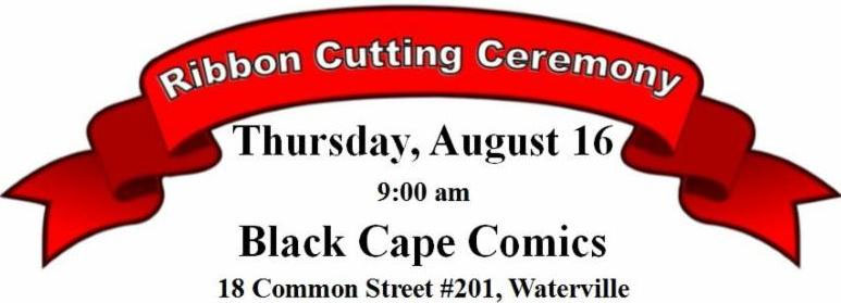 Ribbon Cutting for Black Cape Comics