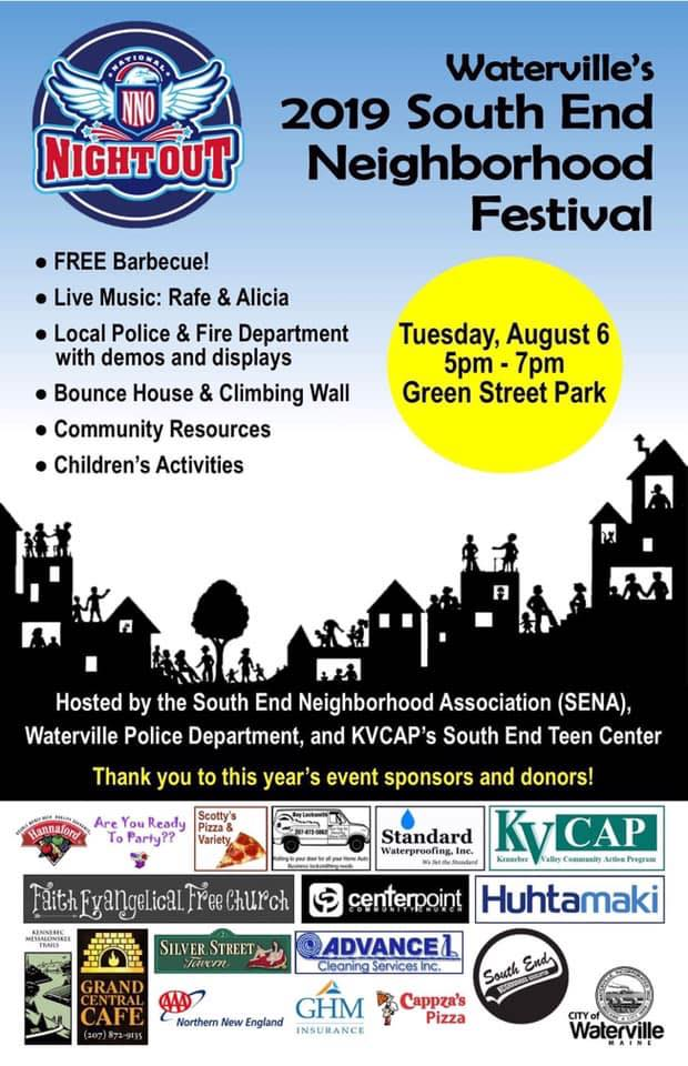 FREE Barbecue, Live Music: Rafe & Alice, Local police and Fire Dept demos and displays, Bounce House, Community Resources, Children's Activities